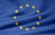 Leinwanddruck Bild - Europäische Flagge
