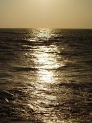 Tramonto sull'oceano