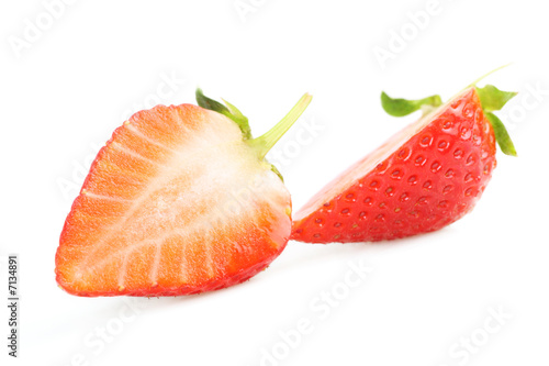 Delicious fresh strawberry