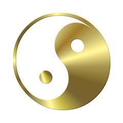 ying - yang gold
