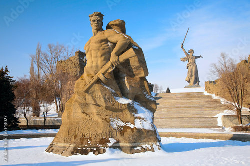 monument to Russian soldiers in Volgograd