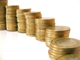 escalones de dinero