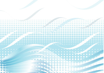 modern wave background design