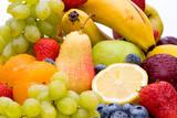 Bunte Mischung aus frischen Früchten