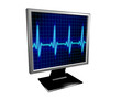 Monitor with heart frequency