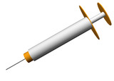 Vaccine Jab Equipment Clip Art poster