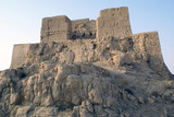 Fort in Jiaohe, Silk road, China poster