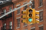 feu ,tricolore ,signalisation,circulation,new,york,nyc poster