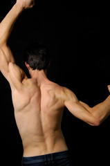 Photo of a men body