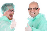 two surgeon happiness poster