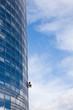 escalade nettoyage spécialiste métier risque building urbain