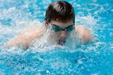 piscine natation jeux olympique nager sportif gagner