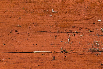 Rustic red wood background texture