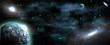 cosmos galaxy planet solar system