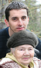 Grandson and Gradmother - in love ;)