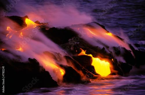 Leinwanddruck Bild Kilauea