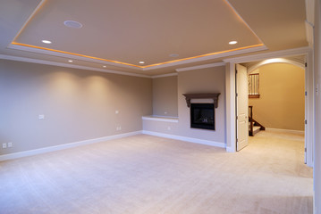 Master Bedroom with Fire Place