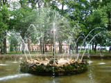 fountain, sculpture, water, Peterhof