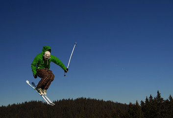 Freestyle ski jum