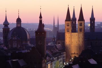 Würzburg am frühen Morgen