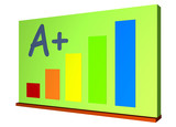 Chalk Board or Green Board for Schools poster