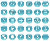 Navigation Icons for Applications and Web poster