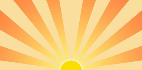 Setting Sun Graphic Clip Art