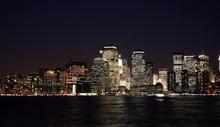 Newyork Skyline de nuit