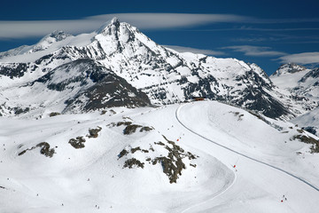 The French Alpes, Tignes