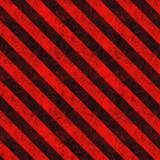 Red Hazard Stripes poster