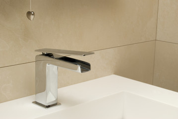 modeern mixer for a washstand