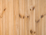 Planks of wooden wall poster