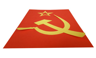 Communism: hammer sickle star CCCP USSR flag