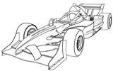 formula one car poster