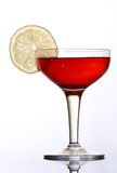 Red colored coctail