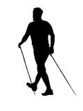nordic walking poster