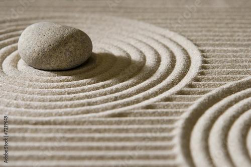 Leinwandbild Motiv Mini zen garden