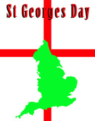 England And St Georges Day