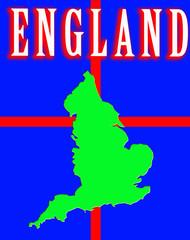 England Map 8