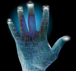 Security finger print Alert