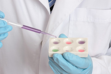 Medical, forensic or scientific research lab tests