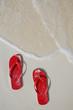 Zapatos en la Playa