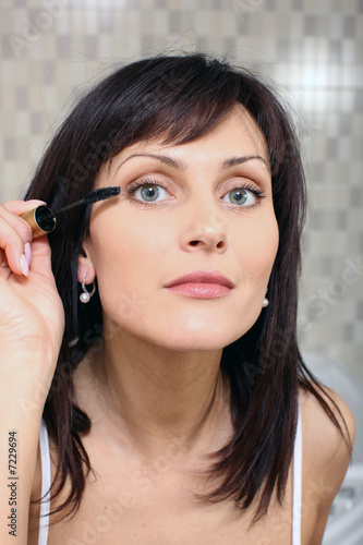 Close up of woman doing make up 2