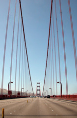 The Golden Gate Bridge Highway