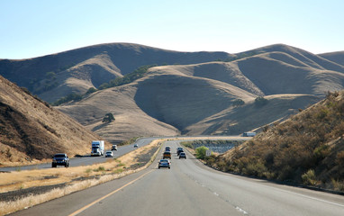 Freeway in Califronia