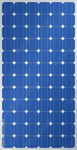 Solarmodul Oberflächenzeichnung