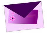 invitation violette poster