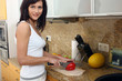 beautiful woman cooking 3