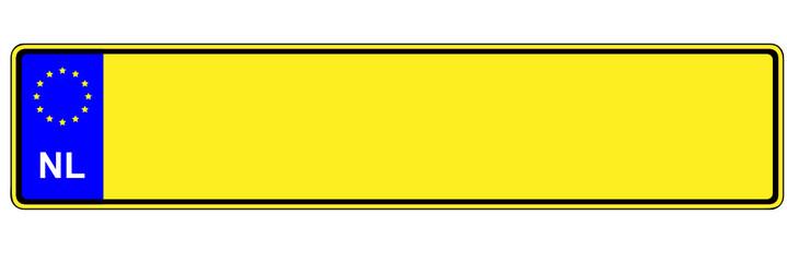 Autokennzeichen - Holland, Niederlande