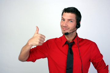 Hotline Assistent Callcenter